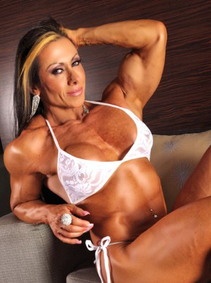 naked muscle women
