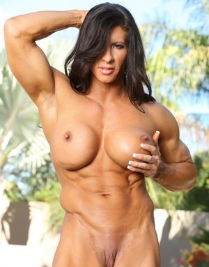 Female bodybuilders shaven pussy